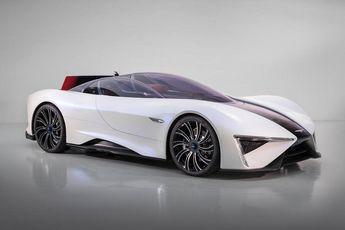 رونمایی از نخستین خودروی سوپر اسپرت چینی / عکس
