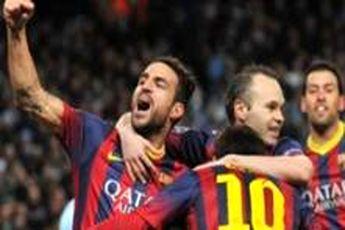 پیروزی بارسلونا مقابل ویارئال با گل به خودی های حریف