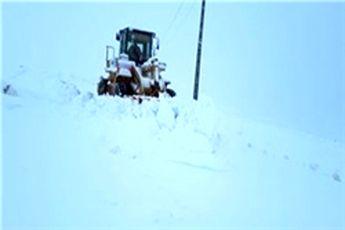 هراز مسدود شد/بارش 40 سانتیمتری برف