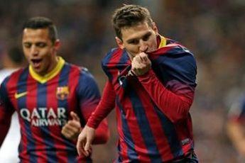 افتخاری دیگر در کارنامه فوق ستاره آرژانتینی بارسلونا