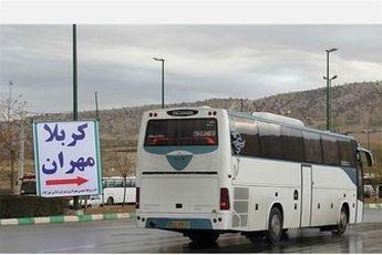 قیمت های نجومی برای اتوبوس های مرز مهران