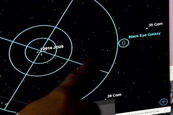 سیارکی به بزرگی زمین فوتبال فردا از کنار زمین عبور خواهد کرد