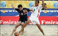 واکنش جالب مهدی تاج به سومی فوتبال ساحلی ایران در جهان