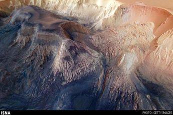 در اینجا سیاره مریخ را سه بعدی ببینید + تصاویر