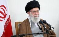 آرزوی بهبودی برای رئیس مجلس از سوی رهبر انقلاب