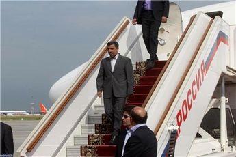احمدینژاد وارد بغداد شد