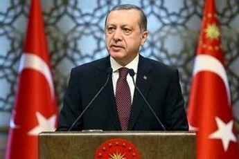 اعلام پیروزی اردوغان در انتخابات