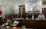 نشست مشترک نمایندگان ۳ استان کشور با آخوندی و لاریجانی برگزار شد