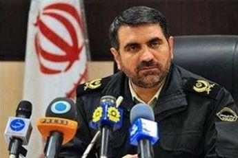 تشکر رئیس پلیس تهران از شهروندان / کاهش تماس با پلیس و آتش نشانی نسبت به سال قبل