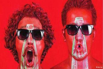 وقتی هنرمندان وطنی(!) کوکاکولا را به تمدن ایرانی گره میزنند