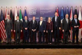 گروه هفت: روسیه قوانین بینالمللی را ضعیف میکند