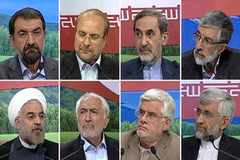پاسخ کاندیداها به ۲ سؤال پایانی دومین مناظره