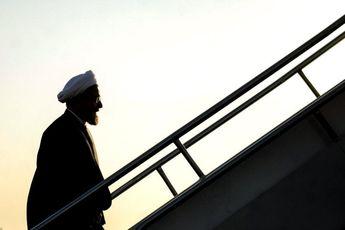 روحانی در راه خوزستان