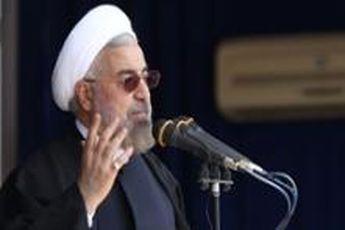 سخنرانی روحانی در افتتاحیه نمایشگاه کتاب آغاز شد