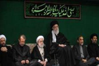 دومین شب مراسم عزاداری حضرت صدیقه ی کبری(س) در حسینیه امام خمینی(ره) برگزار شد