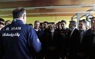 ظریف در اردوی تیم ملی فوتبال حضور یافت