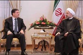 دیدارِ روحانی با نخست وزیر سوریه