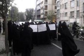 تجمع عفاف و حجاب مقابل وزارت کشور به پایان رسید