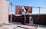 حال و هوای قالیشویی در ایام نوروز