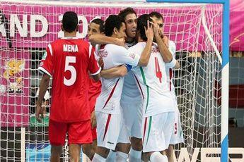 پیروزی قاطع ایران برابر چین