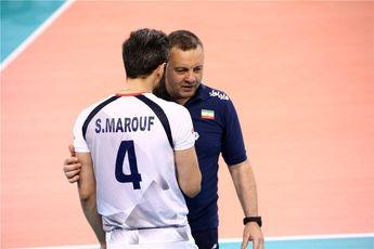 مشورت کولاکوویچ با سعید معروف کاپیتان تیم ملی والیبال