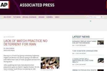 بازی های تدارکاتی کم تعداد مانعی برای تیم ملی ایران نخواهد بود