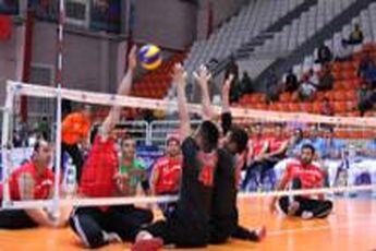 تیم ملی والیبال نشسته مردان ایران فینالیست شد