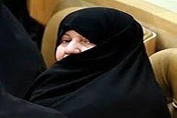 واکنش همسر روحانی به حضور در دولت