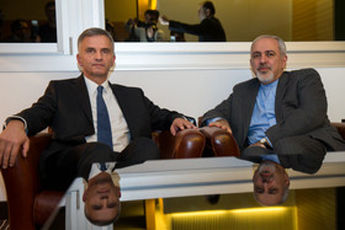 ظریف با وزیر خارجه سوییس دیدار کرد