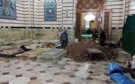 محل تدفین آیت الله شاهرودی آماده میشود