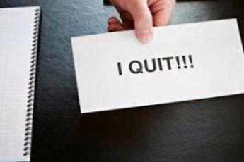 این ۴ نشانه می گوید که باید استعفا دهید