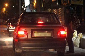 دختران روسپی در خیابان های تهران