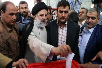 شرکت رئیسی در انتخابات و حضور در ستاد انتخابات وزارت کشور