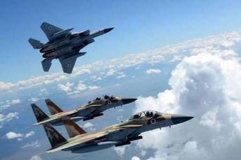 جنگنده های صهیونیست در حمله به سوریه از آسمان لبنان استفاده کردند