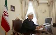پیام تبریک دکتر روحانی به نخست وزیر عراق به مناسبت آزادسازی موصل