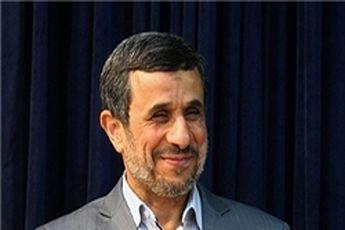 بازدید احمدینژاد از ساختمان جدید برونمرزی صدا و سیما