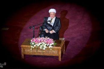 اصلاح یک خبر + متن کامل سخنرانی آیت الله هاشمی در کتابخانه ملی