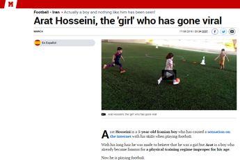 آرات حسینی و تحسین رسانه های خارجی