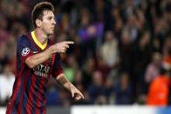 پیروزی پرگل بارسلونا مقابل اوساسونا در آستانه ال کلاسیکو با هت تریک مسی