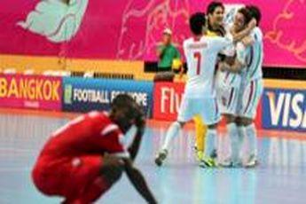 ایران با برتری پرگل مقابل ازبکستان راهی فینال شد