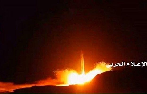حملات موشکی انصارالله به شرکت آرامکو در جنوب عربستان
