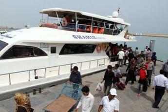 ۵۵۰ هزار مسافر دریایی در بنادر هرمزگان جابجا شدند