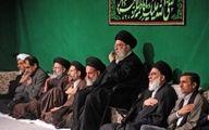 آخرین شب عزاداری فاطمیه(س) در حسینیه امام خمینی(ره) برگزار شد