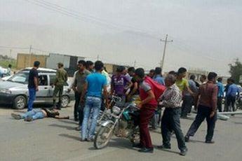 یک کشته و یک مجروح براثر ورزش باد شدیدی در فارس