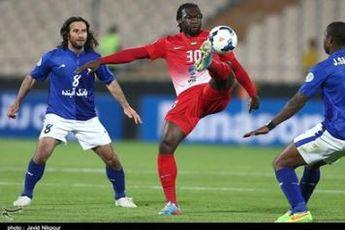 استقلال با لباس آبی برابر قرمزپوشان الجزیره