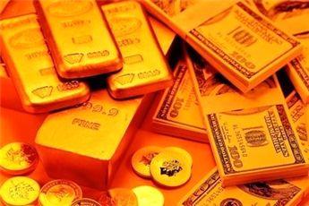 ریزش قیمت طلا در بازار