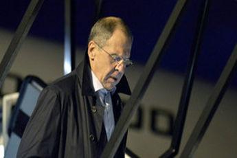 لاوروف در بروکسل به دیدار اشتون رفت