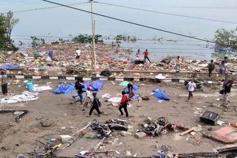 48 کشته در زلزله و سونامی اندونزی