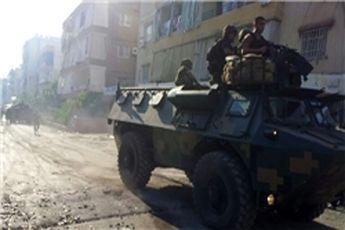 درگیری عناصر مسلح با ارتش لبنان