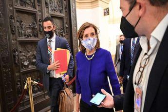 نانسی پلوسی لایحه زیرساخت ها را به رای می گذارد